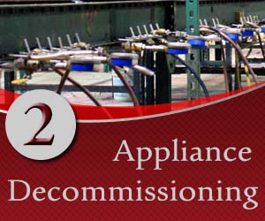 Decommissioning appliances in Canada