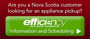 Schedule a refrigerator or freezer pickup in Nova Scotia