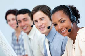 Call center employees for ARCA Canada